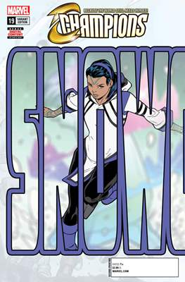 Champions Vol. 2 (2016) Variant Covers (Comic Book) #19.1