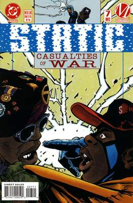 Static (Comic Book) #7