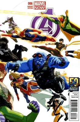 Avengers Vol. 5 (2013-2015 Variant Covers) (Comic Book) #6
