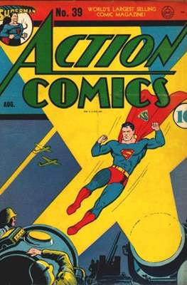Action Comics Vol. 1 (1938-2011; 2016-) (Comic Book) #39