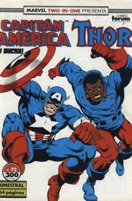 Capitán América Vol. 1 / Marvel Two-in-one: Capitán America & Thor Vol. 1 (1985-1992) (Grapa 32-64 pp) #72