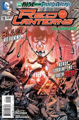 Red Lanterns (2011 - 2015) New 52 #15