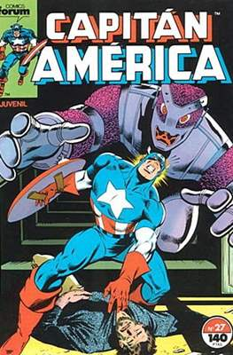 Capitán América vol. 1 / Marvel Two-in-one: Capitán America & Thor vol. 1 (1985-1992) (Grapa 32-64 pp) #27