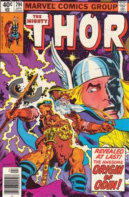 Journey into Mystery / Thor Vol 1 (Comic Book) #294