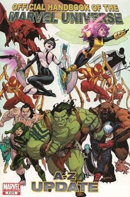 Official Handbook of the Marvel Universe A-Z Update (Handbook) #2