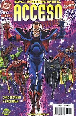 DC / Marvel: Acceso Total (1998). Línea Crossover (Grapa) #1