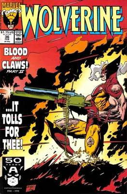Wolverine (1988-2003) (Comic Book) #36
