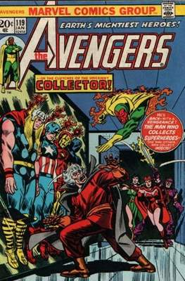 The Avengers Vol. 1 (1963-1996) (Comic Book) #119