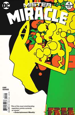 Mister Miracle (Vol. 4 2017- Variant Covers) (Comic Book) #4.1