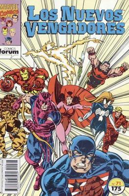 Los Nuevos Vengadores Vol. 1 (1987-1994) (Grapa 32 pp) #71