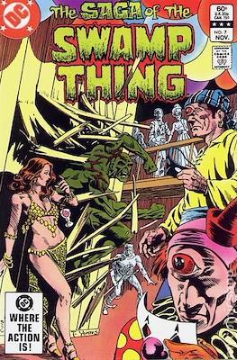 Swamp Thing (1982-1996) #7