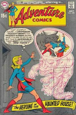 New Comics / New Adventure Comics / Adventure Comics (1935-1983; 2009-2011) (Saddle-Stitched) #395