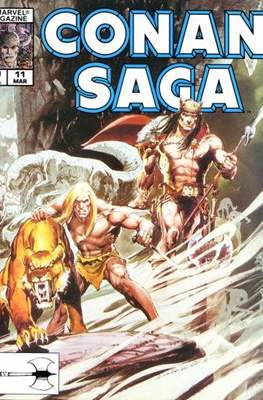 Conan Saga (Comic-book) #11