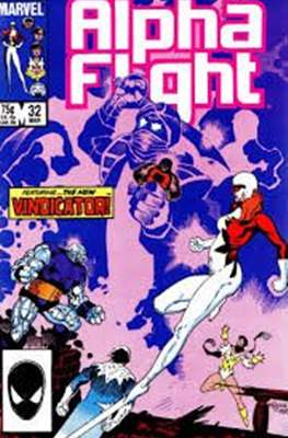 Alpha Flight Vol. 1 (1983-1994) (Comic Book) #32