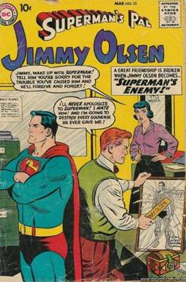 Superman's Pal, Jimmy Olsen / The Superman Family (Comic Book) #35