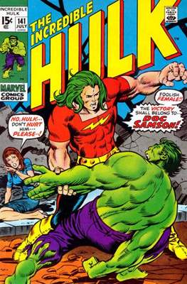 The Incredible Hulk Vol.1 (Saddle-stitched. 1962-1999) #141