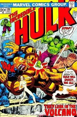 The Incredible Hulk Vol. 1 (1962-1999) (Comic Book) #170