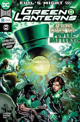 Green Lanterns Vol. 1 (2016-2018) (Comic-book) #50
