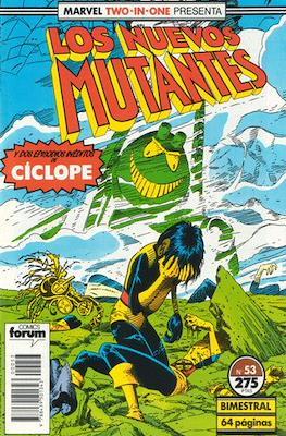 Los Nuevos Mutantes Vol. 1 (1986-1990) (Grapa 32-64 pp) #53