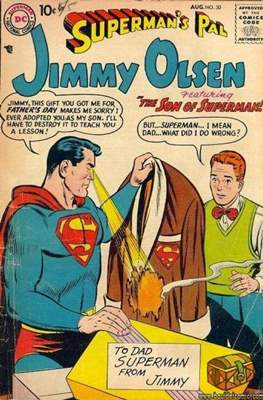 Superman's Pal, Jimmy Olsen / The Superman Family (Comic Book) #30