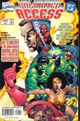 Unlimited Access (Comic-Book) #1