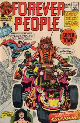 The Forever People (Comic Book) #1