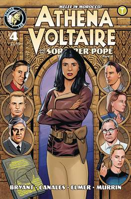 Athena Voltaire (Comic Book) #4