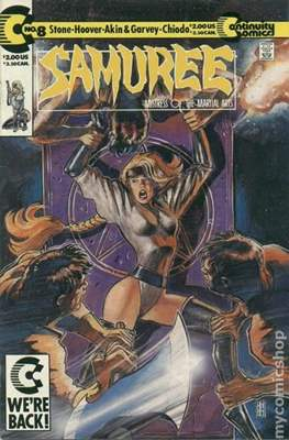 Samuree (1987-1991) (Comic Book 32 pp) #8