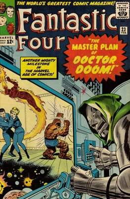 Fantastic Four Vol. 1 (1961-1996) (saddle-stitched) #23