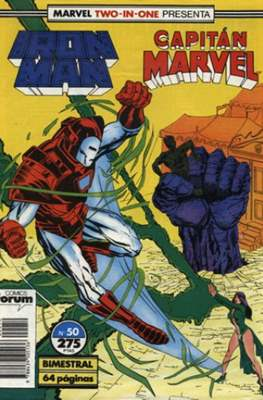 Iron Man Vol. 1 / Marvel Two-in-One: Iron Man & Capitán Marvel (1985-1991) (Grapa, 36-64 pp) #50