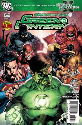 Green Lantern Vol. 4 (2005-2011) (Comic book) #62