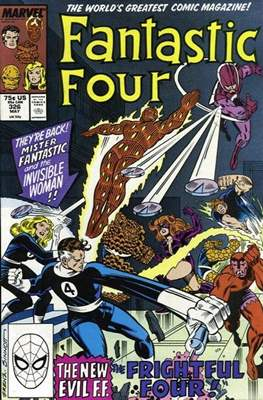 Fantastic Four Vol. 1 (1961-1996) (saddle-stitched) #326