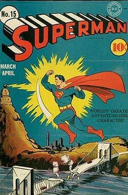 Superman Vol. 1 / Adventures of Superman Vol. 1 (1939-2011) (Comic Book) #15