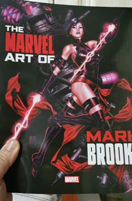The Marvel Art of Mark Brooks