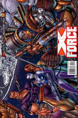X-Force Vol. 1 (1991-2002 Variant Cover) (Comic Book) #50
