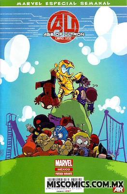 Age of Ultron - Marvel Especial Semanal (Portada Variante)