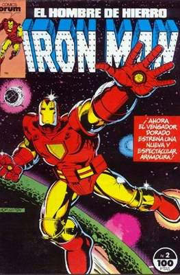 Iron Man Vol. 1 / Marvel Two-in-One: Iron Man & Capitán Marvel (1985-1991) (Grapa, 36-64 pp) #2