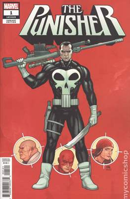 The Punisher (2018- Variant Cover) #1.2