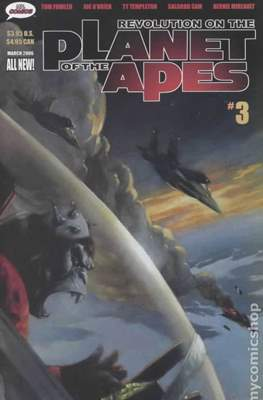 Revolution on the Planet of the Apes (Comic Book 32 pp) #3