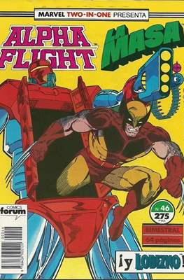 Alpha Flight vol. 1 / Marvel Two-in-one: Alpha Flight & La Masa vol.1 (1985-1992) (Grapa 32-64 pp) #46