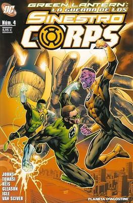 Green Lantern. La guerra de los Sinestro Corps (Grapa 96 pp) #4
