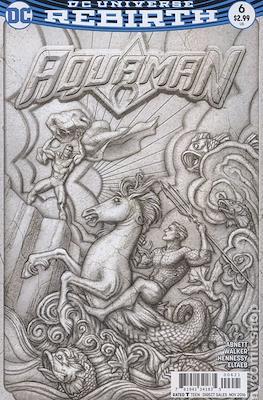 Aquaman Vol. 8 (2016-2021) Variant Cover) #6