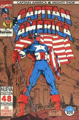 Capitán América & Thor el Poderoso Vol. 2 (1993-1994)