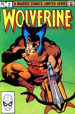 Wolverine (1982) (Comic Book) #4