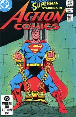 Action Comics Vol. 1 (1938-2011; 2016-) (Comic Book) #539