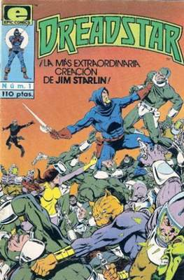 Dreadstar Vol. 1 (Grapa. 17x26. Color. (1985).) #1