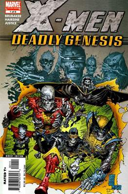 X-Men: Deadly Genesis (Grapa) #1