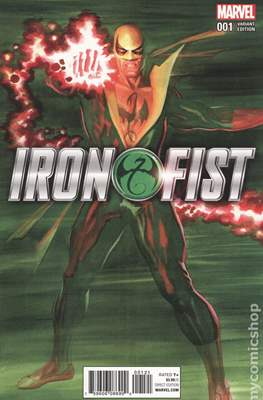 Iron Fist Vol. 5 (2017-2018 Variant Cover)