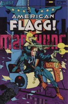 American Flagg! (Comic book) #20