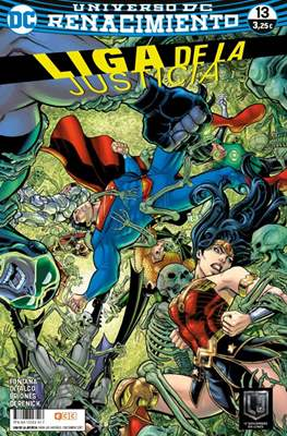 Liga de la Justicia. Nuevo Universo DC / Renacimiento (Grapa) #68/13